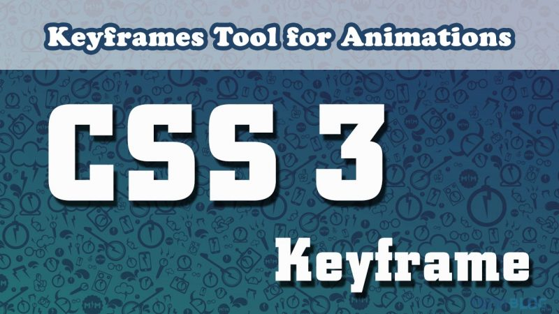 keyframes tool for animations