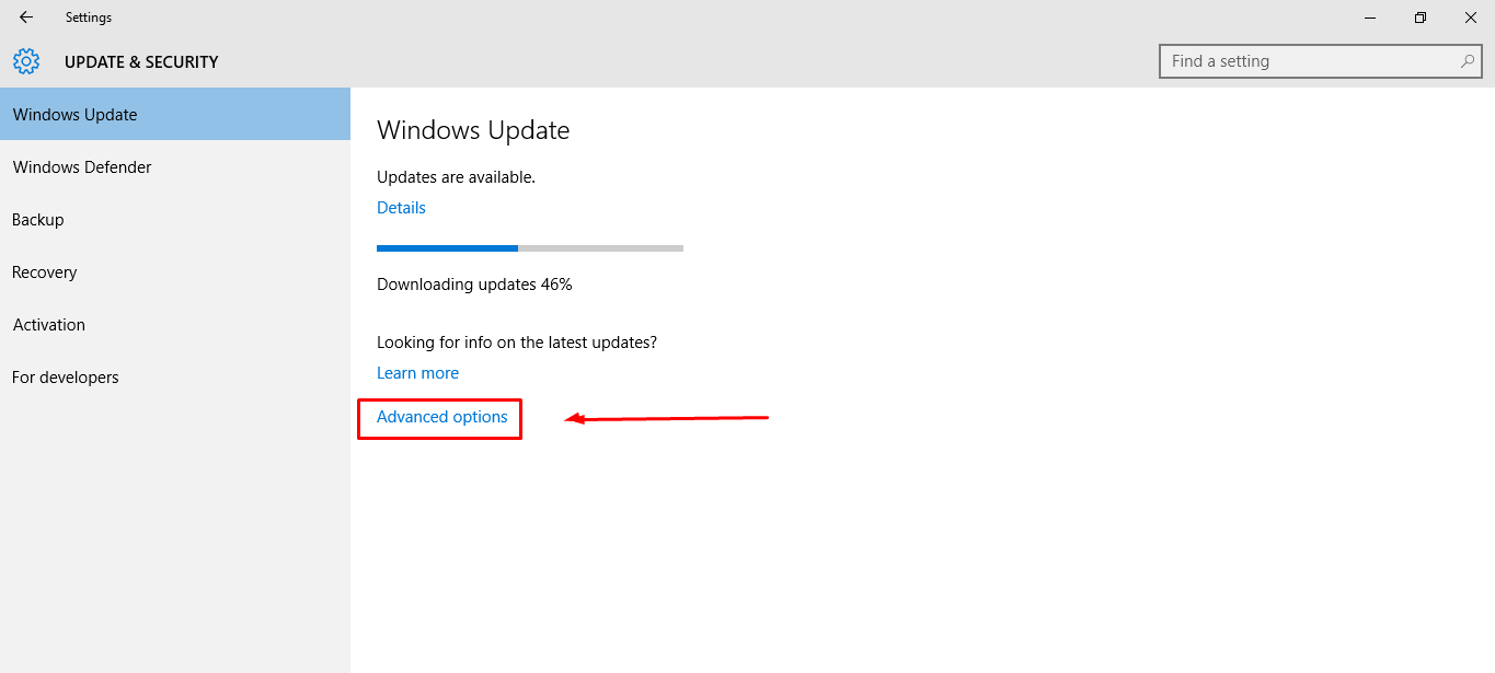Step2- How to turn auto update off in Win 10