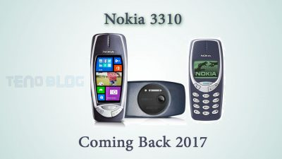 Nokia 3310 coming back 2017 - tenoblog