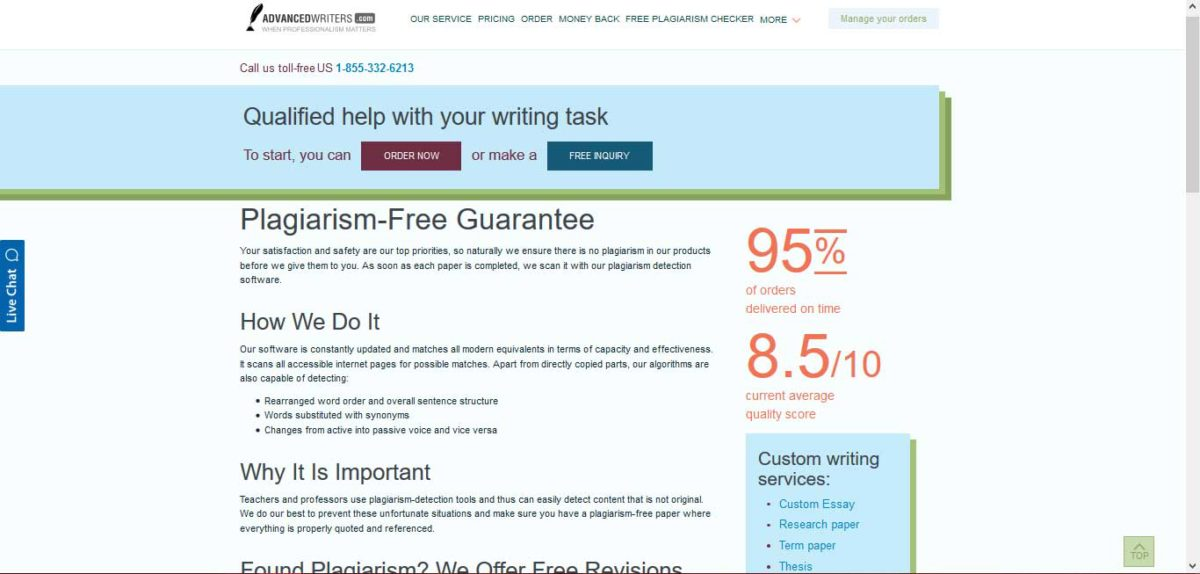 How to make term paper free from plagiarism